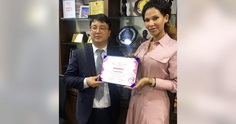 Zertifikat für neueste Techniken im Fadenlift – Seoul/Südkorea