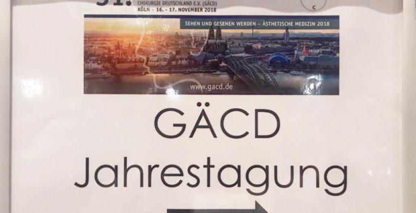 31. Jahrestagung der GÄCD e.V. in Köln